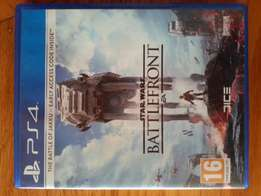 Star Wars: Battlefront game for PS4.
