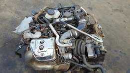Mercedes-Benz A45 damaged Engine