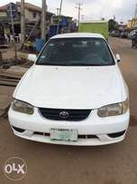 Super clean Nigeria used Toyota Corolla 2000 model in good condition