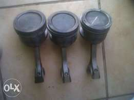 daewoo lanos pistons and conrods R350