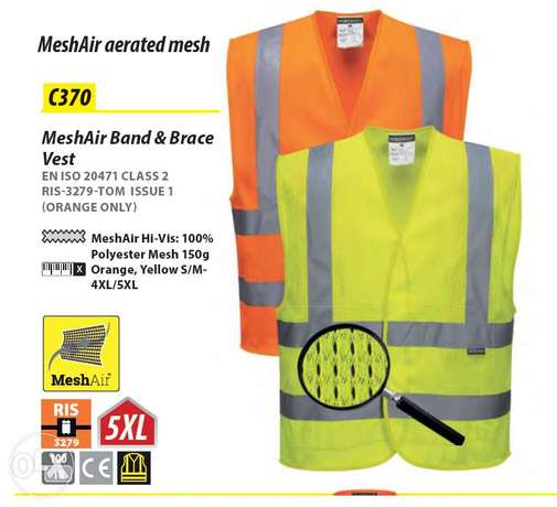 MeshAir Band & Brace Safety Vest