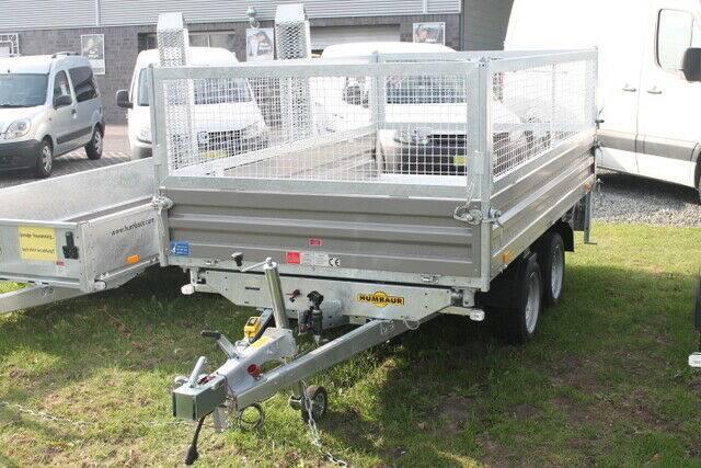 Humbaur PKW Anhaenger HTK 3000.31 mit E-Pumpe / Stahl 30