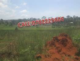 Irrestible 100by 100ft plot for sale in Kyanja at 120m