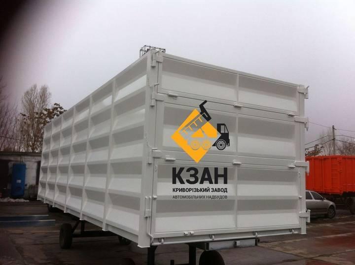 Box new bdf, bortovoy kuzov, konteyner swap body - - 2019