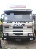 Super Clean Scania container Truck.