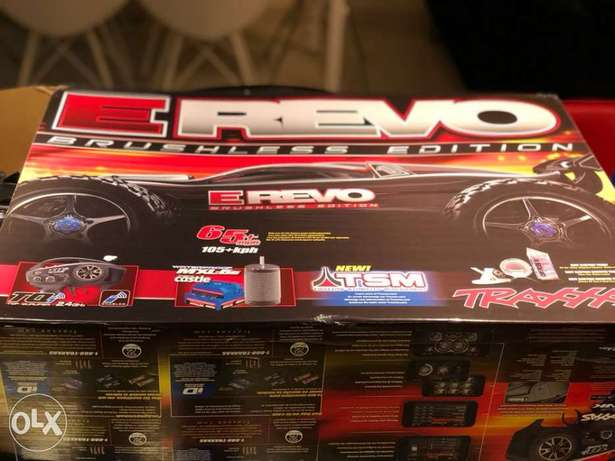 Rc car Traxxas Erevo brushless 6s silver