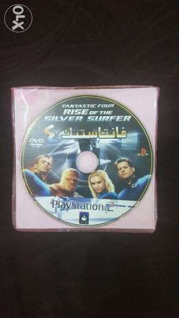Fantastic Four Rise of the Silver surfer Playstation 2 DVD