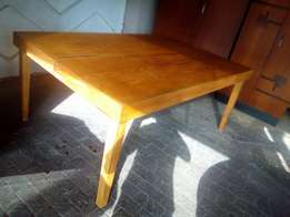 Solid Oak dining table/boardroom 10-12 Seater