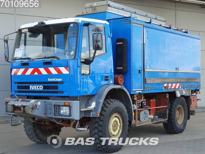 Iveco Eurocargo 135E18 4X4 Mobile-Workshop Big-Axle Manual Euro 1 - 1996