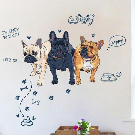 Naklejka Na ścianę Pies Buldog Francuski Ws 0313 łódź Bałuty Olxpl
