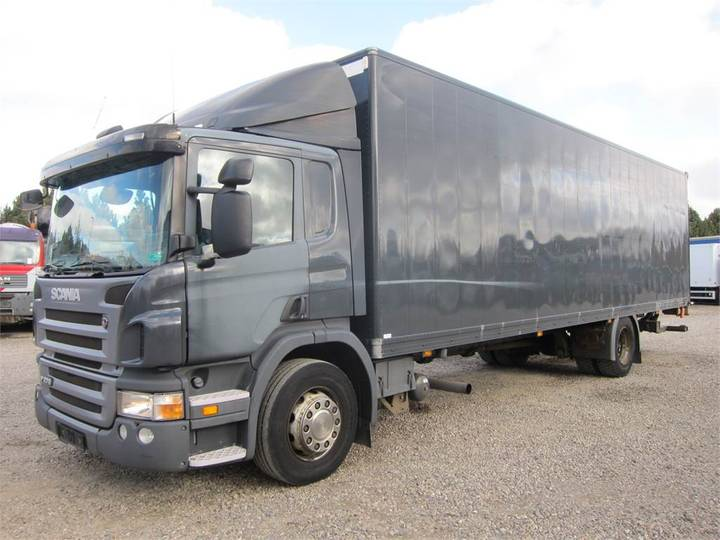 Scania P270 9,50 M. Kasse 4x2 Euro 4 - 2007