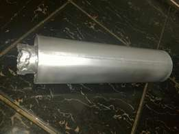 63mm stainless steel exhaust box