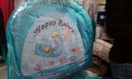 3 piece baby cot net with matress and pillow on offer at KSh 1400
