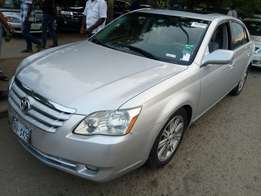 Toyota Avalon Limited 2006 Silver Colour
