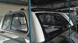 Nissan Navara dcab luxury canopy for sale.