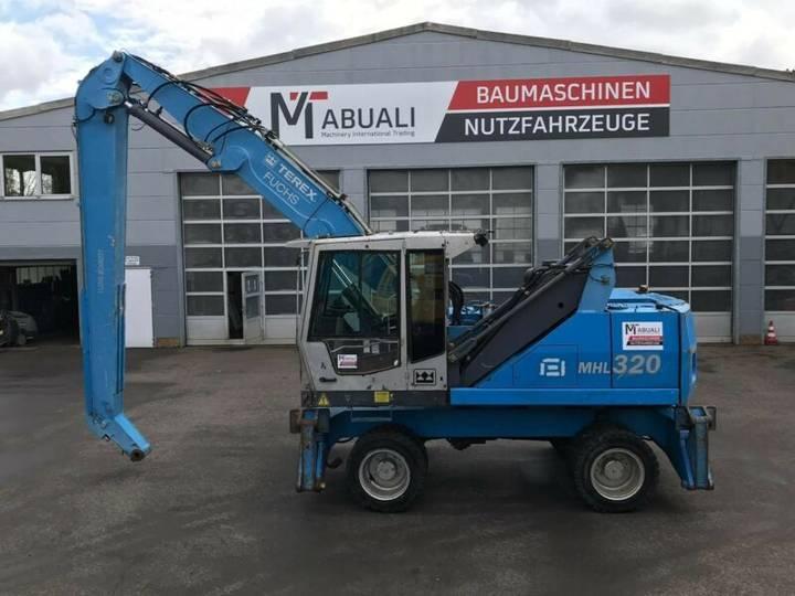 Fuchs MHL 320 **BJ2009 *13860H** Umschlagbagger
