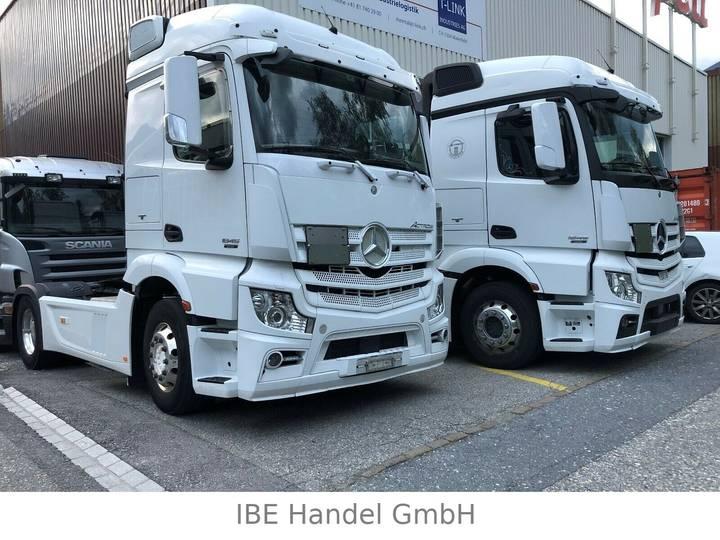 Mercedes-Benz Actros 1845 4x2, E6, ADR, 2 Stück - 2012