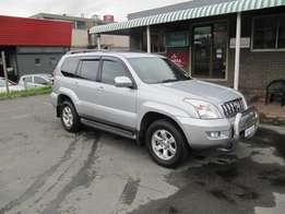 Immaculate !!! One Owner !!! 2007 Toyota Prado 4.0 VX Auto 4x4
