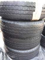 4x tyres Goodyear Cargo G91 205/75/16,80 percent tread!!For Iveco taxi