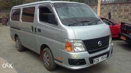 Nissan Caravan on sale/trade in accepted