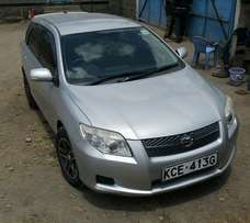 Hurry and Get A KCC Toyota Fielder ,2008 Model,Accident Free,Dvd,Alloy