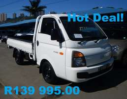 Hyundai H100 with Dropsides