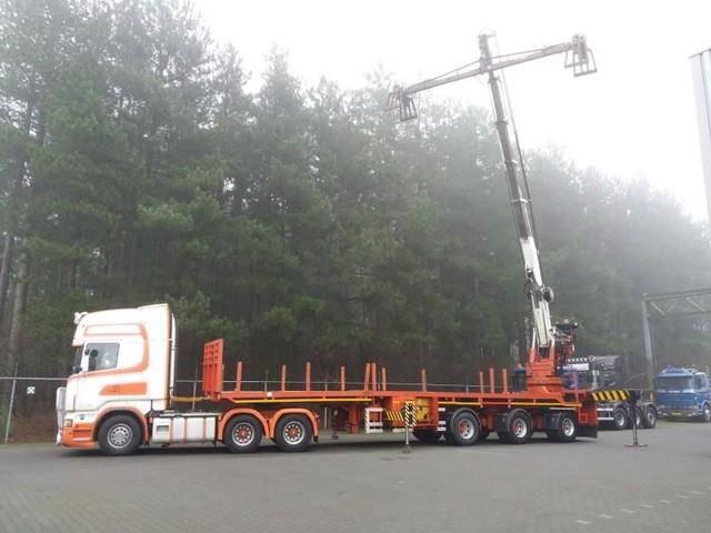 Effer ekw  80 ton kraanoplegger - 2000