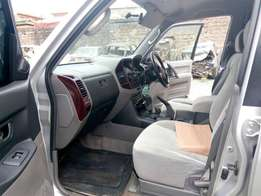 Quick sale on Mitsubishi Pajero DID 3200cc Diesel engine auto Yr 2000