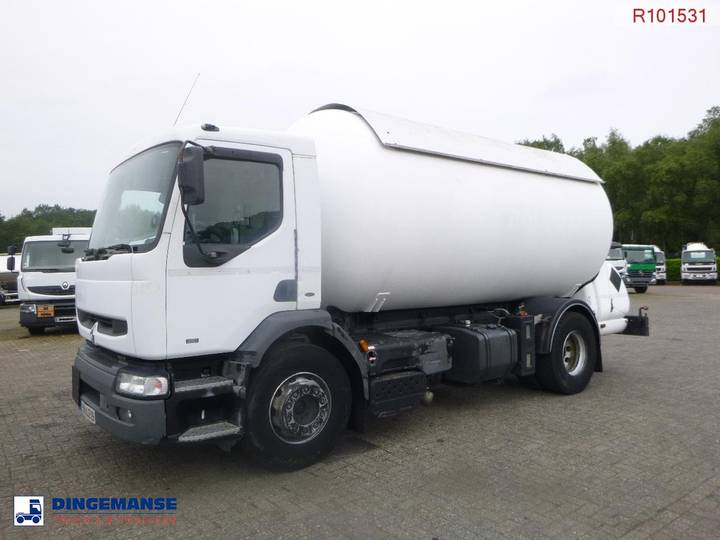 Renault Premium 250 dci 4x2 gas tank 20.1 m3 - 2000