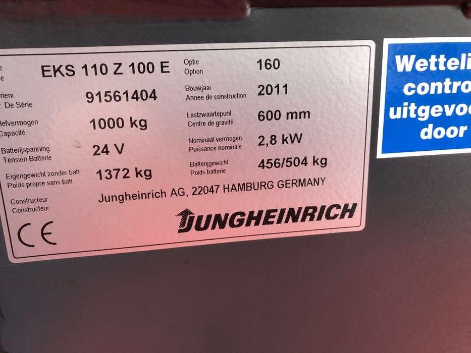 Jungheinrich EKS 110 L 100 E Pallettruck - image 14