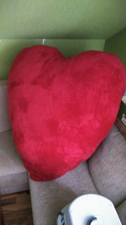 Duża Poduszka Serce Xxl Walentynki Pszczyna Olxpl