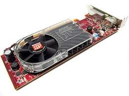 ATI Radeon 3400 graphics card