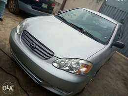 Foreign used Toyota corrolla 2003 model