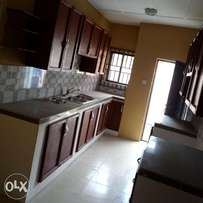 A newly built two bedroom flat to let at ayobo.