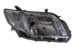 headlight with green