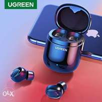 Ugreen Bluetooth Earphone 5.0 TWS True Wireless Earbuds Stereo Handsfr