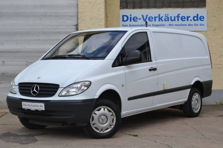 Mercedes-Benz Vito 111 CDI 4x4 KLIMA Allrad Standheiz. 4matic - 2007