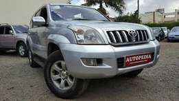 Toyota Landcruiser Prado, Silver, Year 2008, Locally assembled, 3000cc
