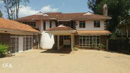 4 bedroom double storey house to let in Runda.