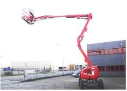 Cherry Picker - JLG450AJ 15M boom lift for hire
