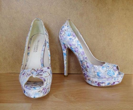 Архив  Женские туфли Vina Vestina на высоком каблуке 80b279f67012b