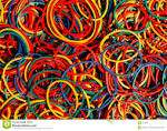 Rubber bands no 14 at 1200 per 1 kg.