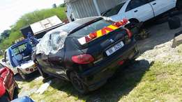 Peugeot 206 1.4 2004 model stripping for spares