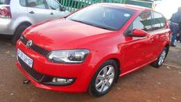 Polo 6 1.4 2012 model Red in color 62000km R130000