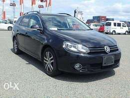 Volkswagen golf variant brand new car