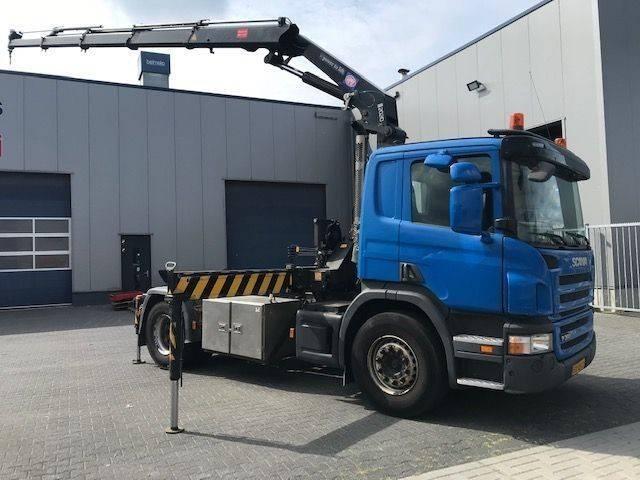Scania P360, HMF 2020 Kraan, Crane, Kran Grua, Gru No HIAB - 2011