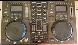 Gemini CDJ and mixer console. Perfect working condition R2500