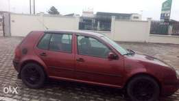 2004 golf 4 registered