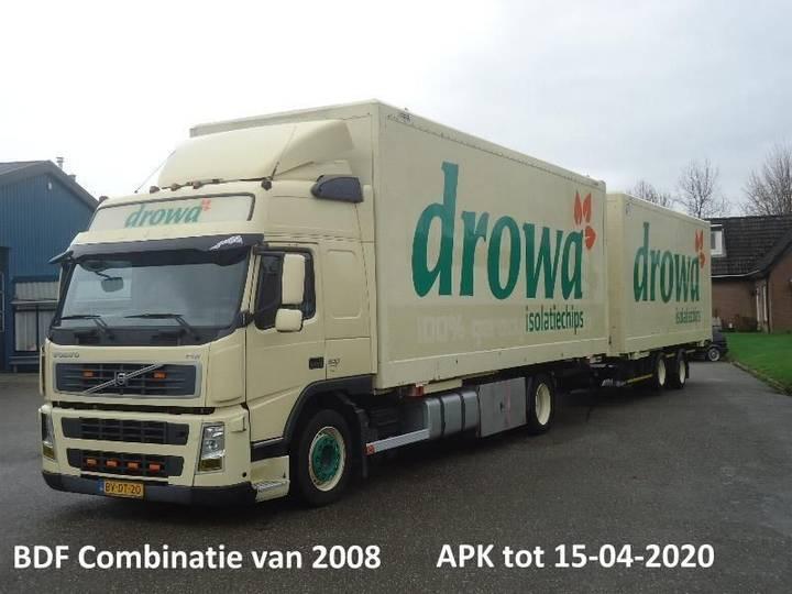 Volvo FM9 BDF Bak + Kipper systeem + Wipkar BDF met 2x Liftas 2008 - 2008