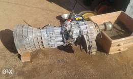 Nissan gearbox and diff